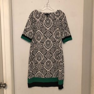 Madison Leigh Black/White Dress Size 16